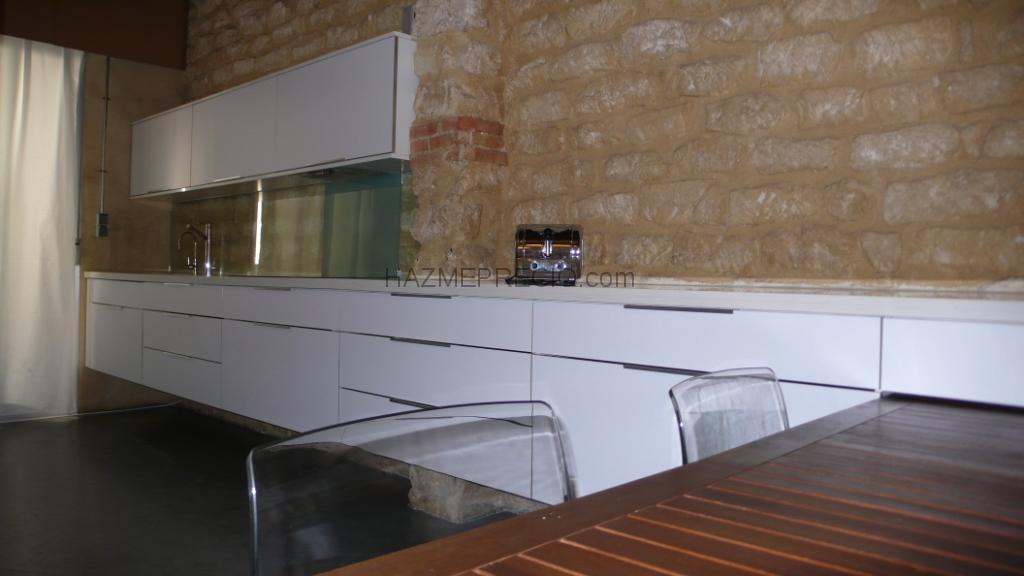 Rehabilitacion de lof alicante - Frente cocina cristal ...