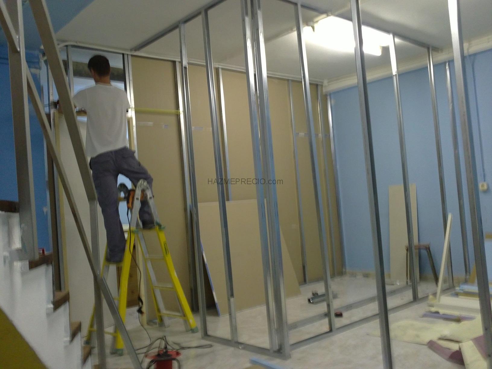 Tabiques pladur,montaje techo desmontable,montaje puertas en Giju00f3n ...