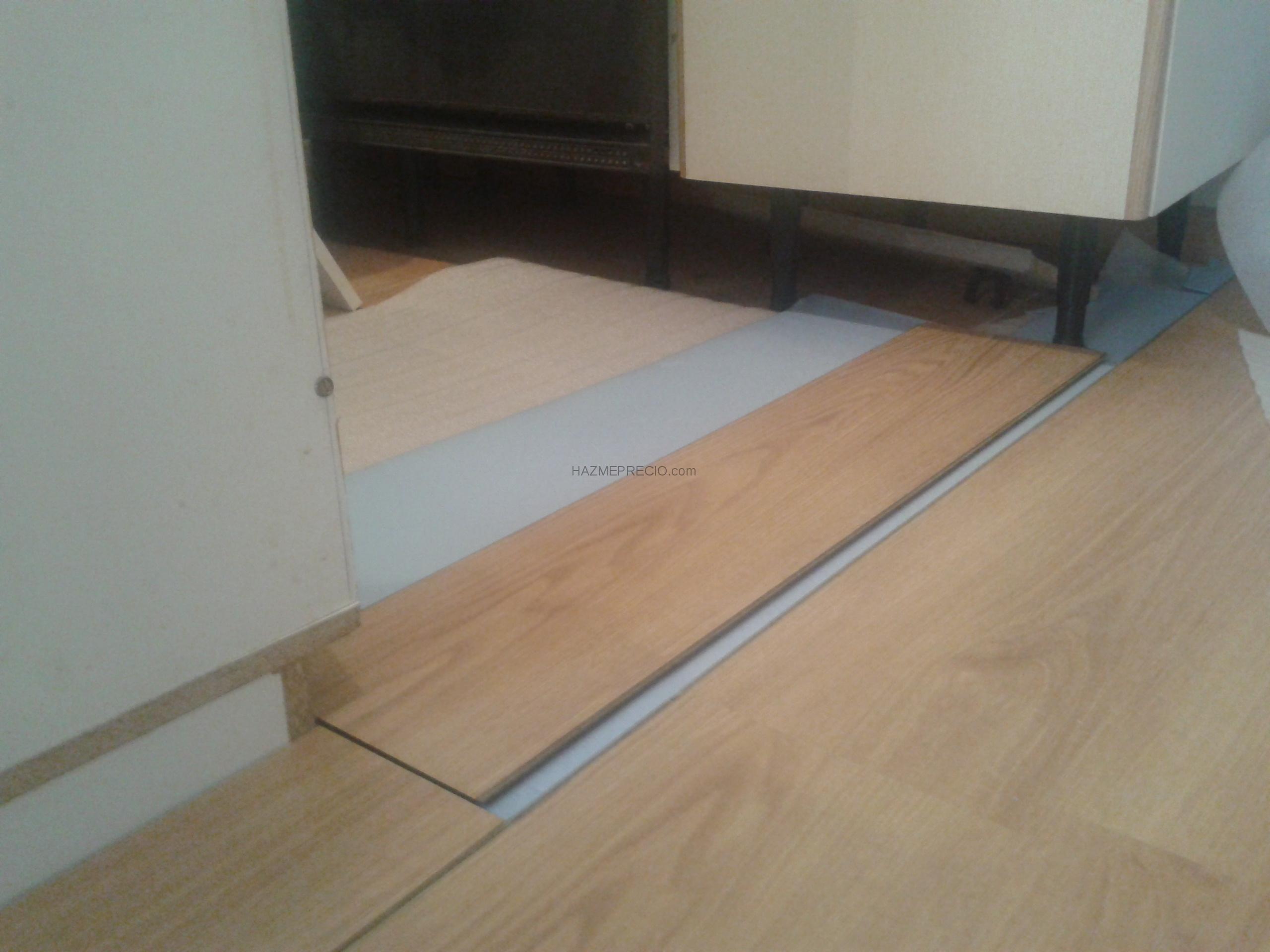 ac 5 con double aislamento: en las zonas de los mueble de la cocina ...