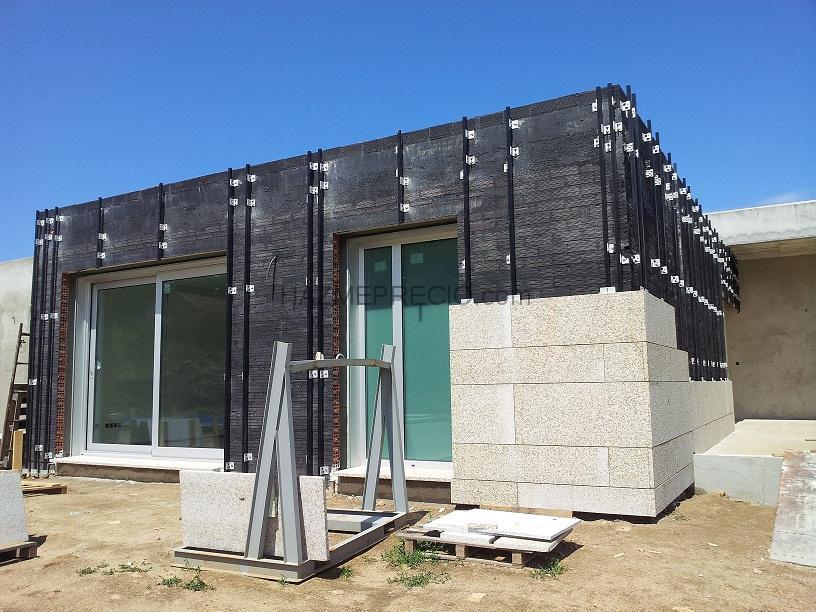 Pyramid obras y proyectos s l 36408 vigo pontevedra - Fachadas ventiladas de piedra ...