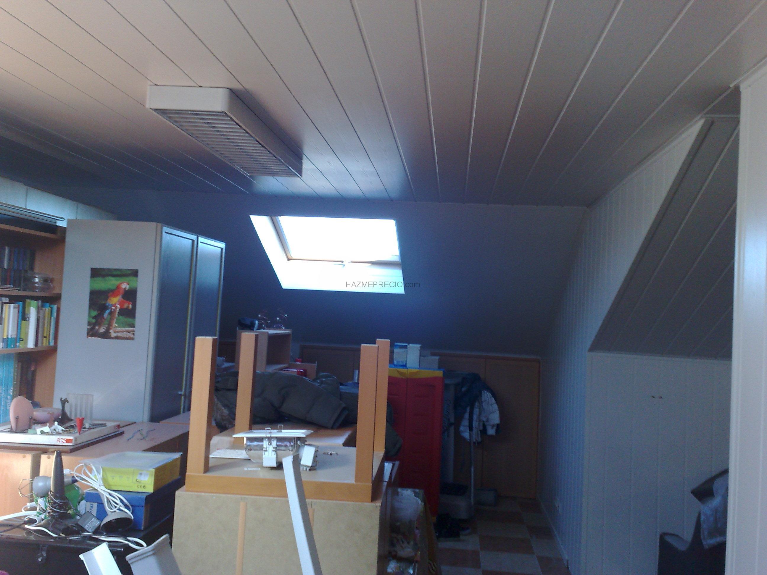 Reformas viviendas coslada - Friso en techo ...