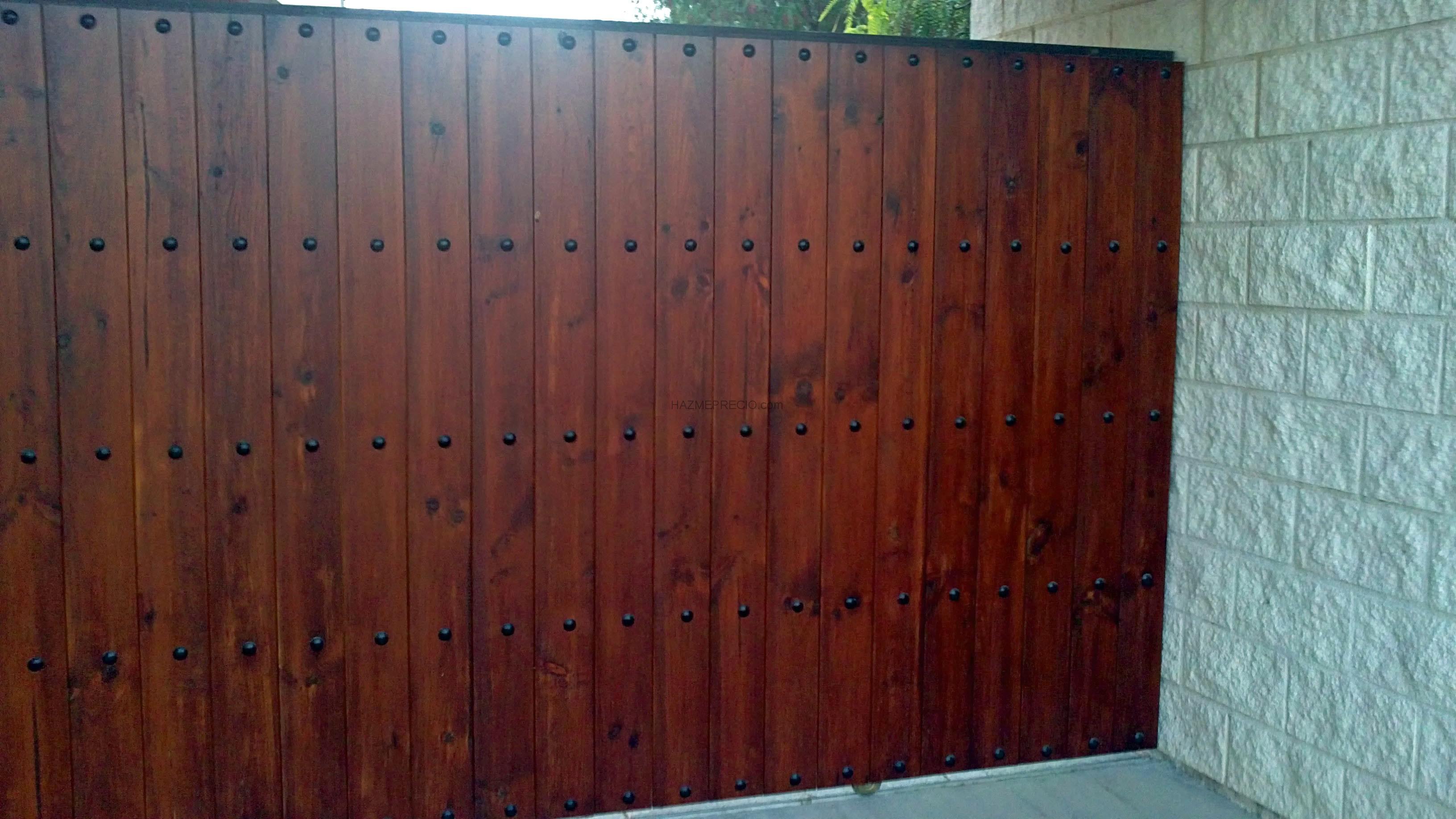 Puertas correderas de garaje cancelas de acceso a fincas for Puertas para fincas
