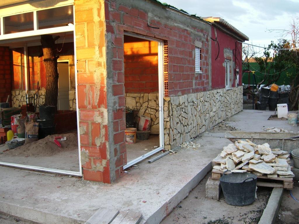 Reforma casa campo cullera valencia - Terrazas de casas de campo ...