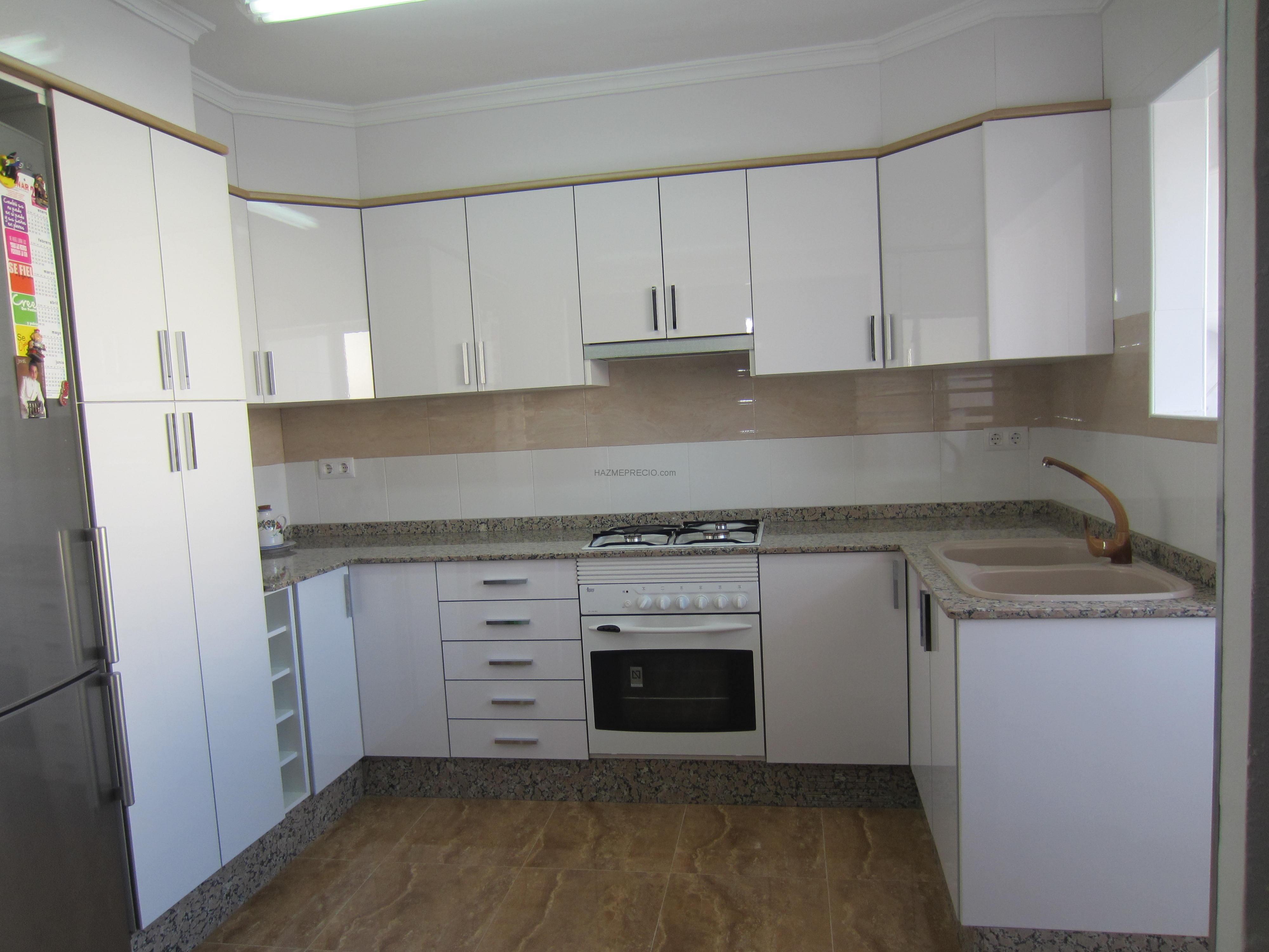 Reformas cocinas valencia - Cambiar puertas muebles cocina ...