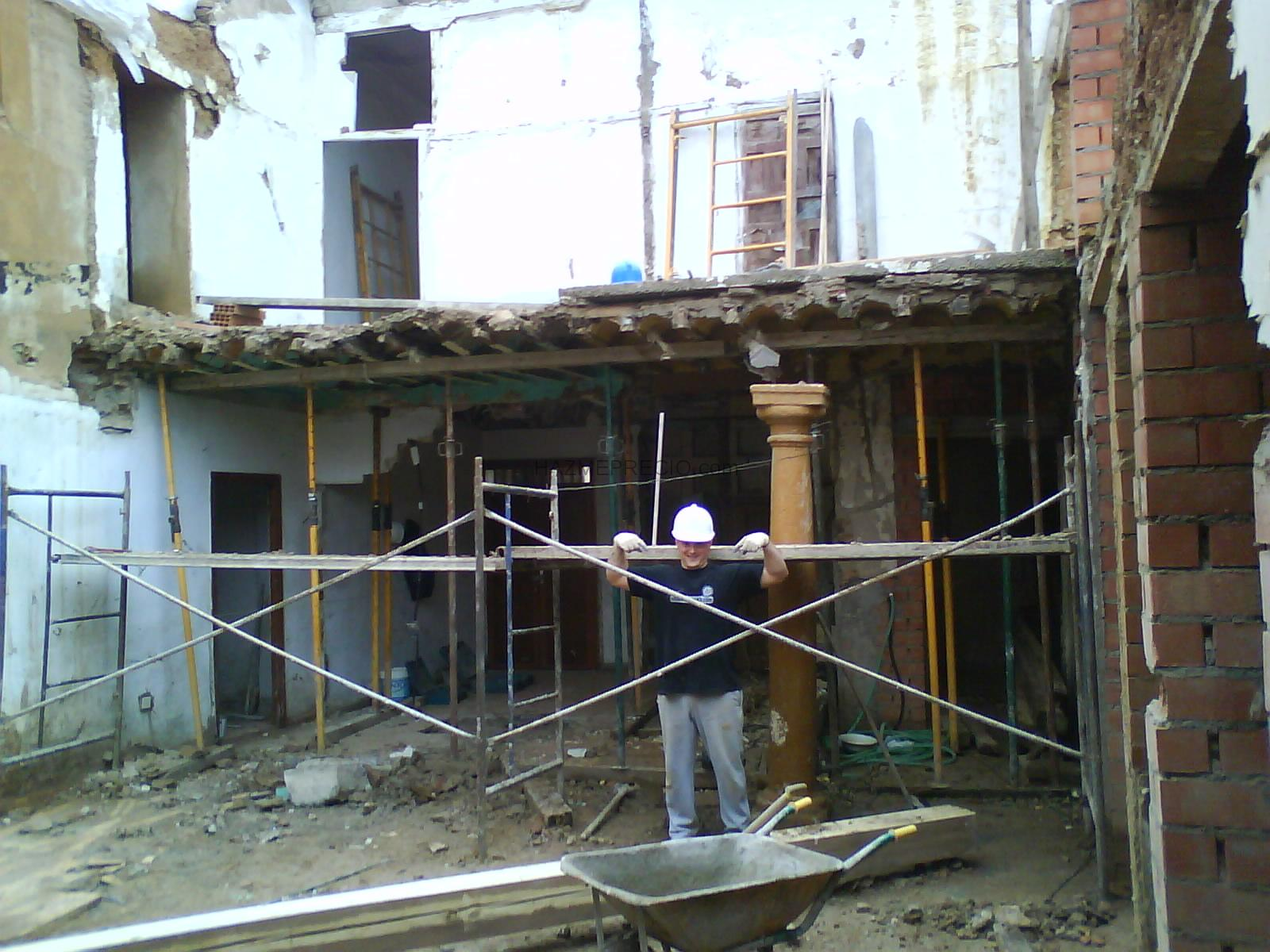 Rehabilitaci n casa antigua madridejos toledo - Rehabilitacion de casas antiguas ...
