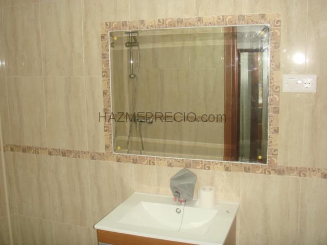 Azulejos Baño Huelva:baño baño terminado con espejo en castrado