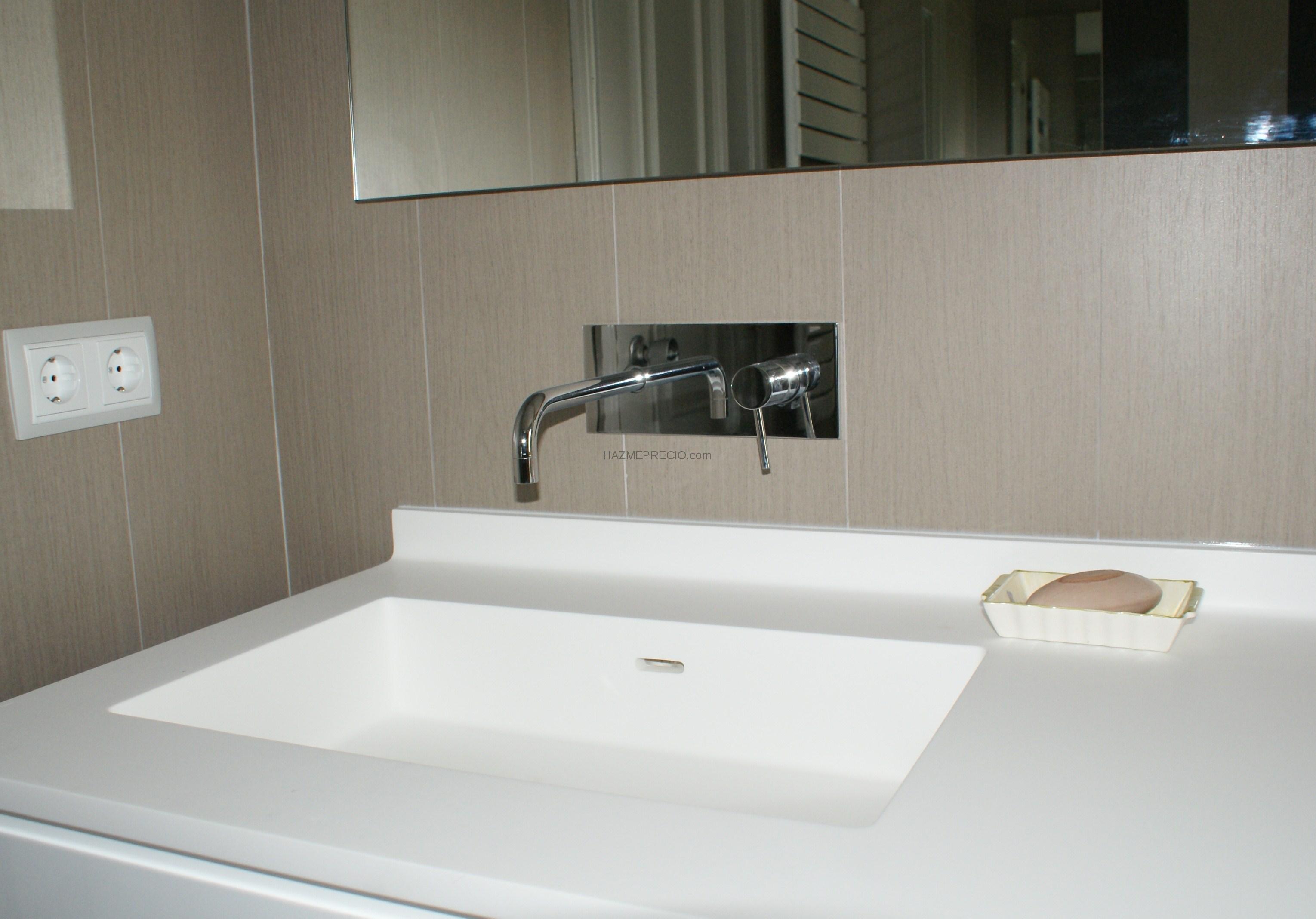 Grifer a lavabo for Griferia empotrada
