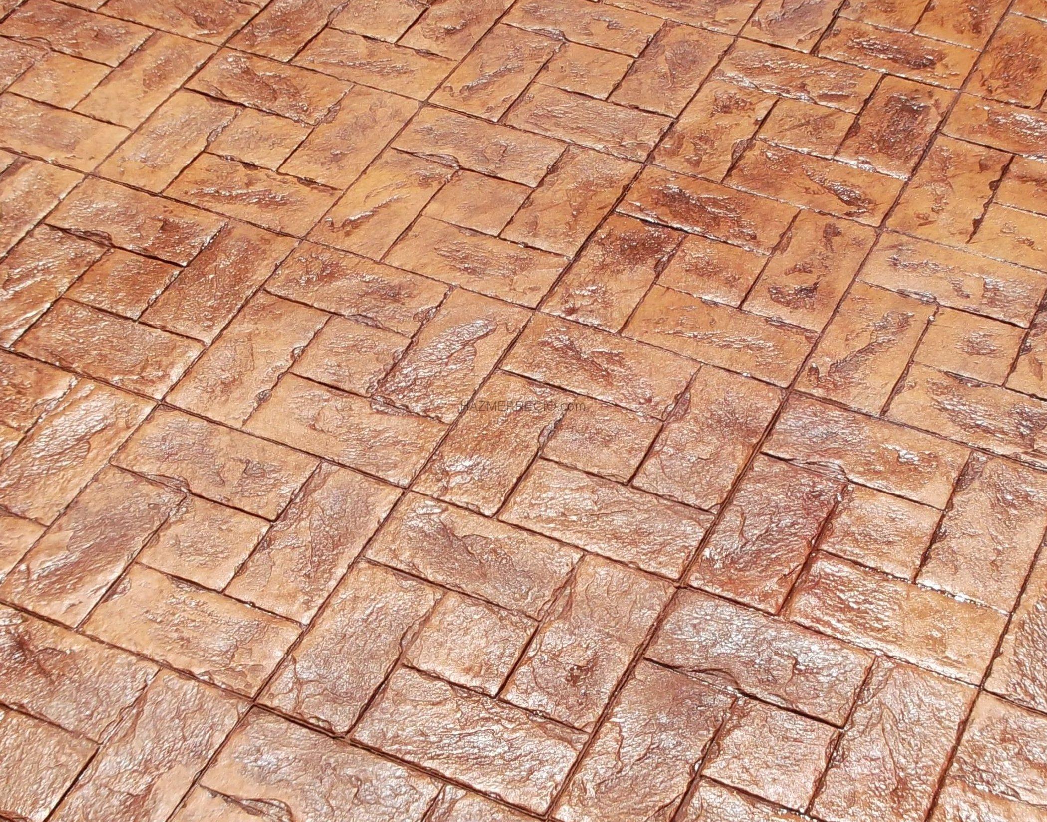Pavimentos de hormigon impreso y pulido reformas muros for Hormigon impreso en toledo