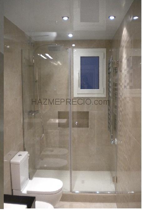 Instalacion Bidet Baño:Colocación de una mampara transparente más toalleroColocación de
