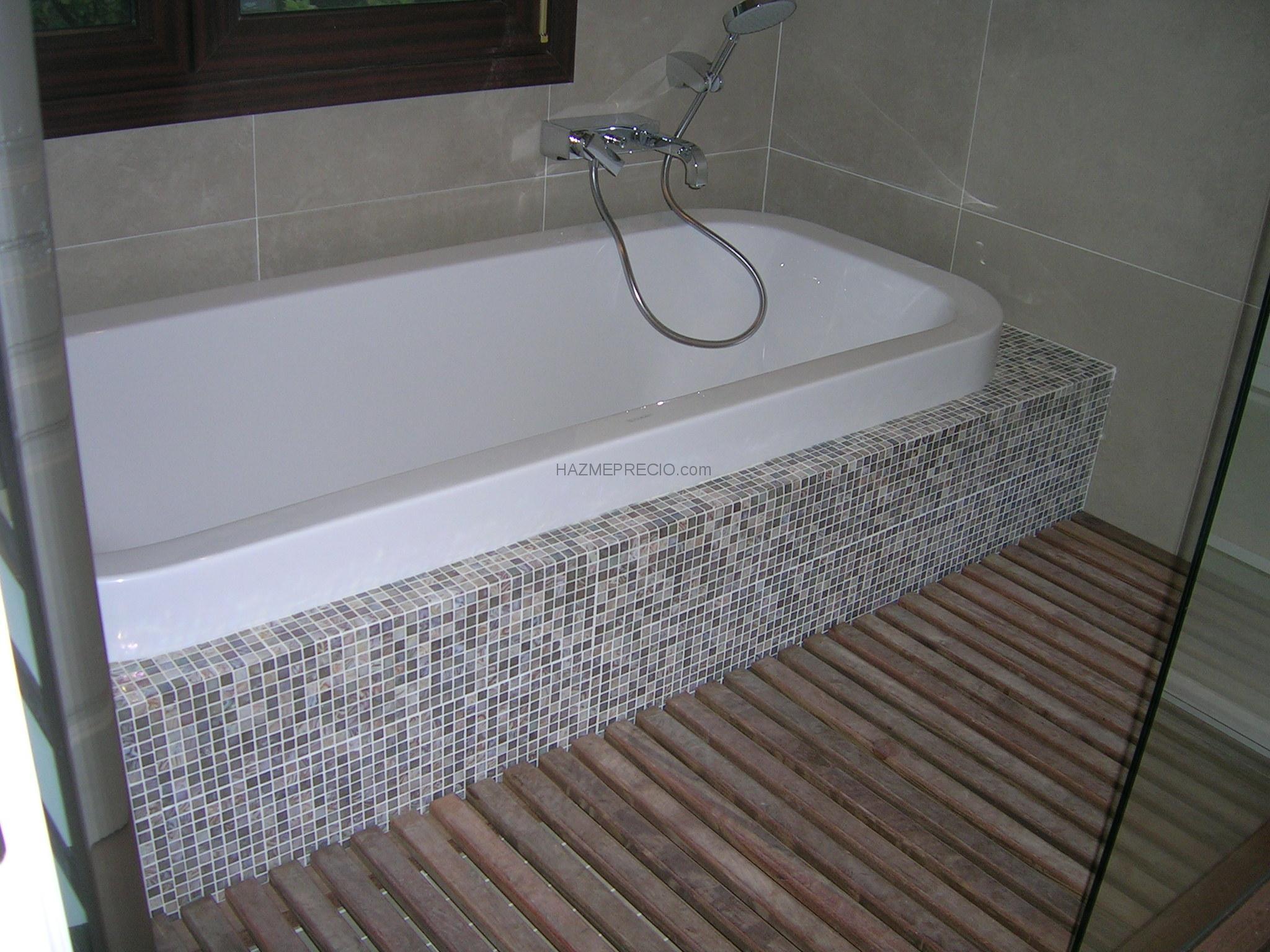 Reforma integral de vivienda en el municipio de getxo for Plato ducha porcelanosa