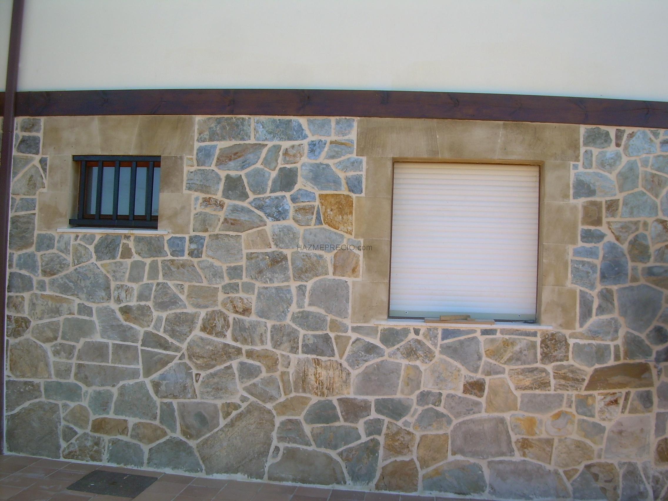 Enlosado de piedra san felices de buelna cantabria - Fachada de piedra natural ...