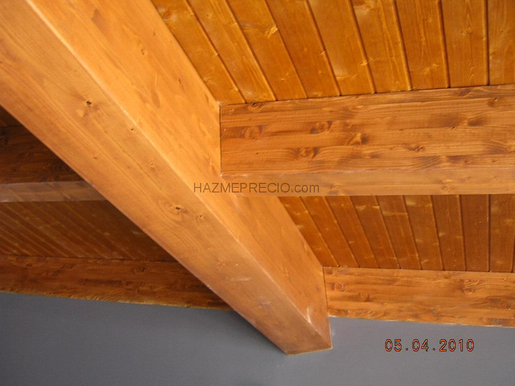 Reformas teruel - Estructura tejado madera ...