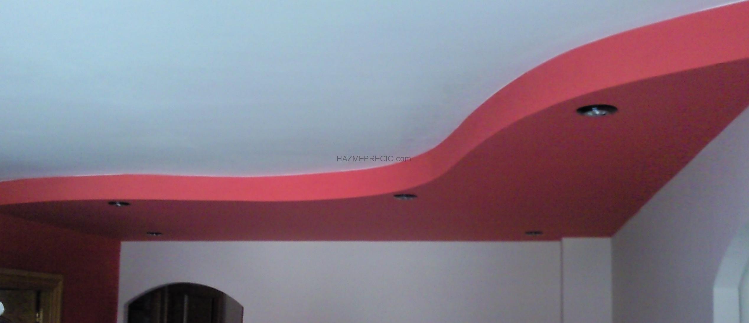 Alisado paredes con estucado utebo zaragoza - Halogenos de techo ...