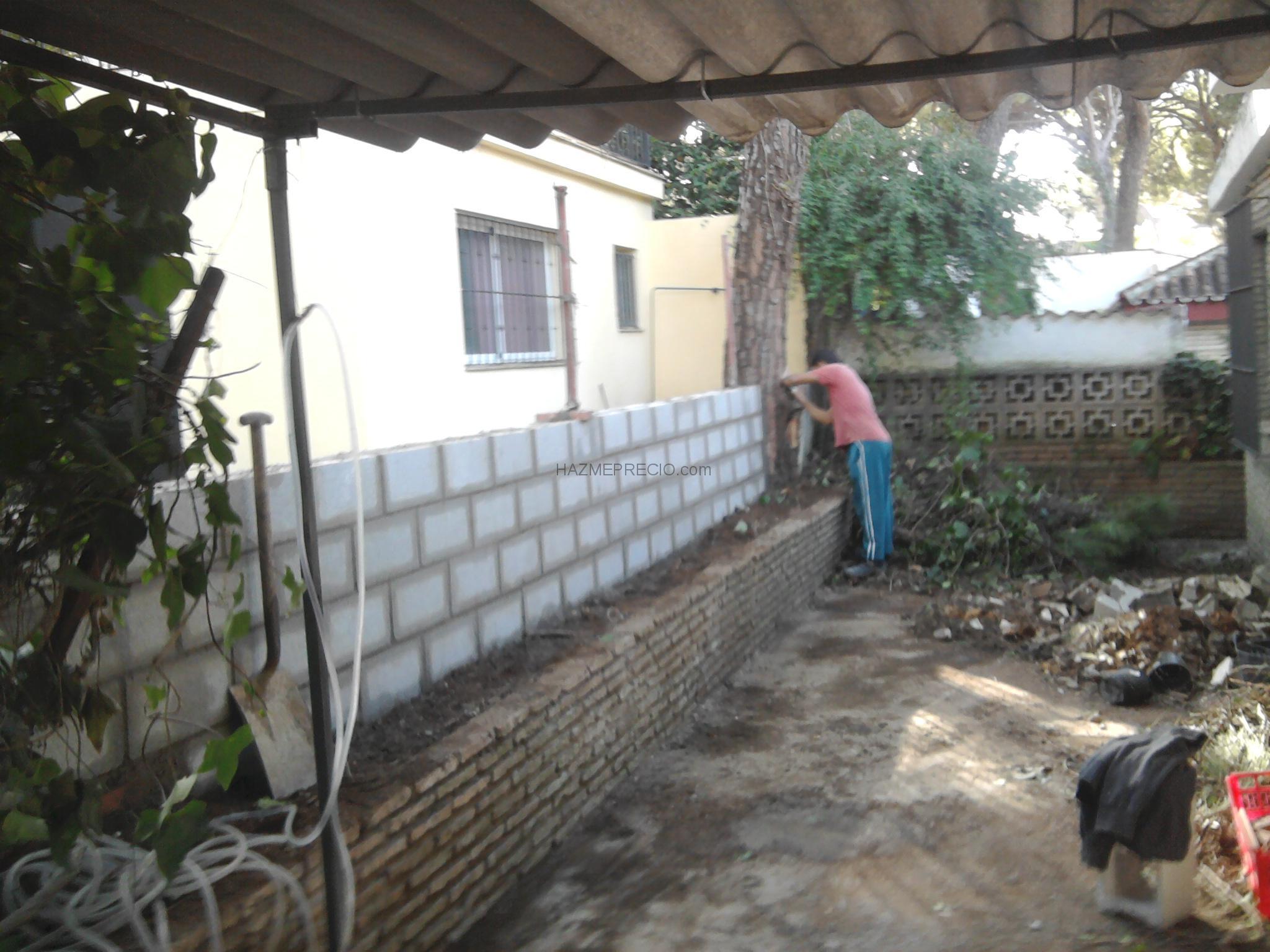 Varios trabajos realizados cerramientos de muro taviqueria - Muro de bloques ...
