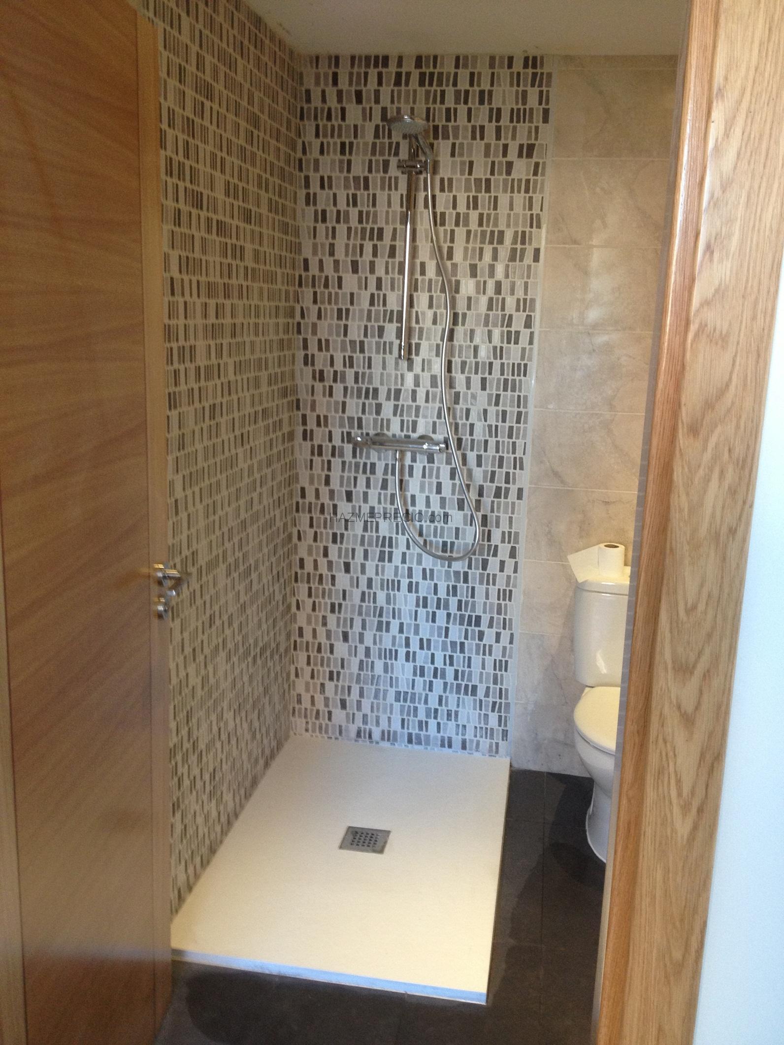 Reforma Baño A Ducha:Cambio plato de ducha en Vitoria_Gasteiz:Sustitucion plato ducha