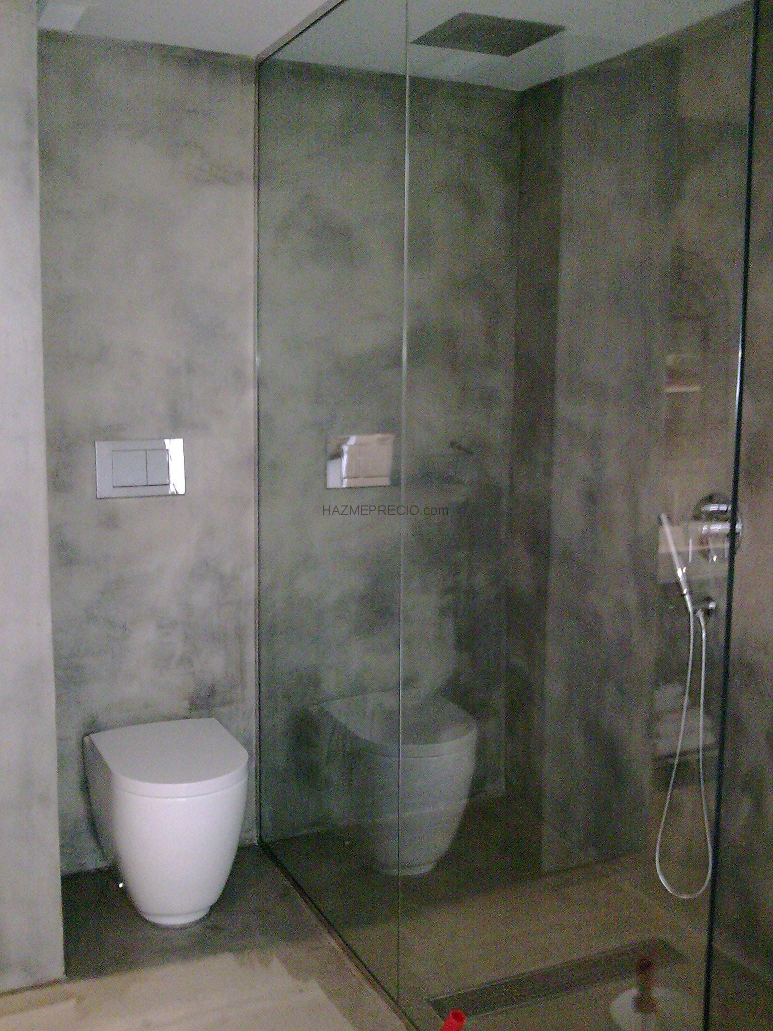 Baños Con Microcemento Fotos:Baño En Microcemento Suelo En Laminado 100 Pictures to pin on