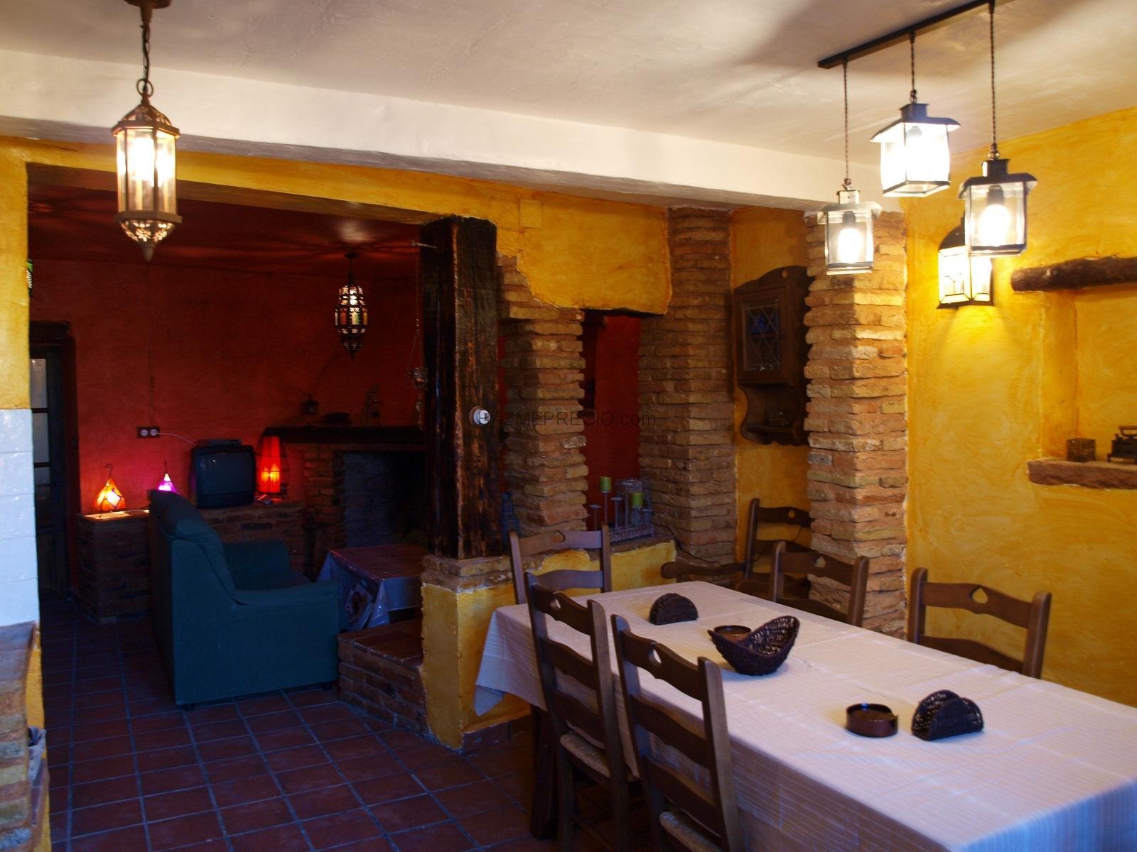 La cocina, parte del salón comedor