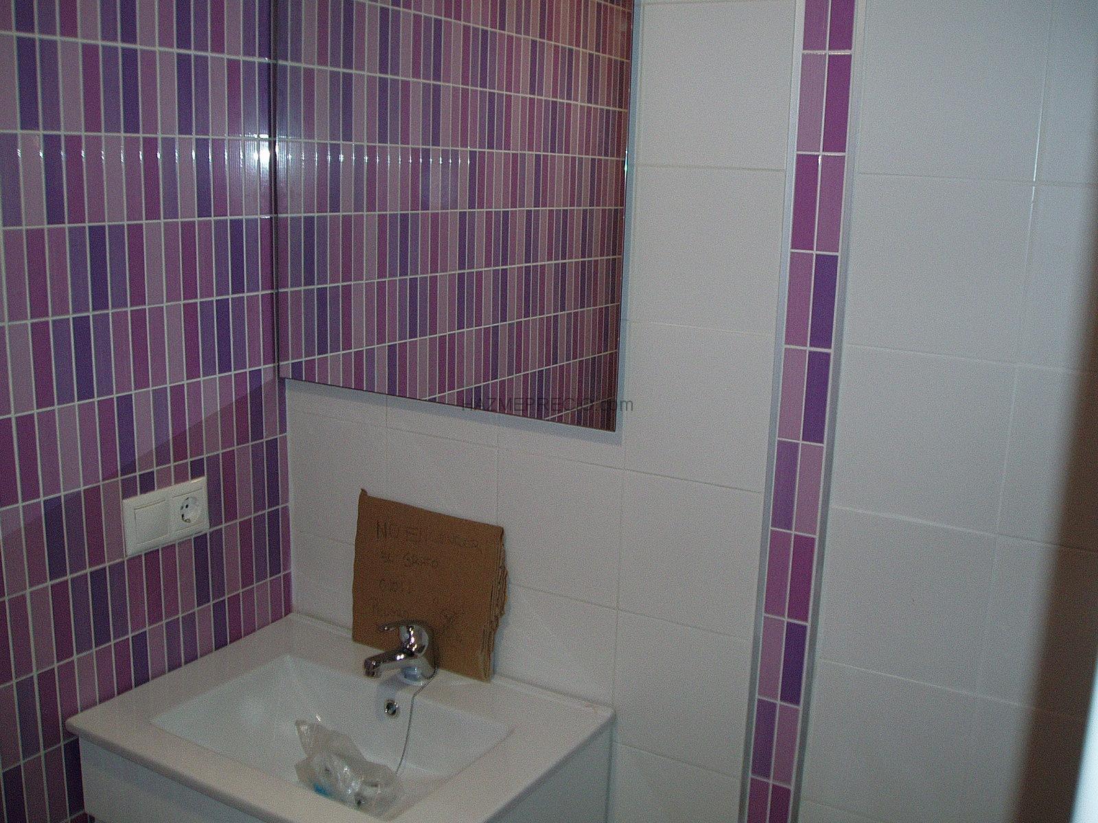 Azulejo para ba o blanco - Azulejos de cuartos de bano ...