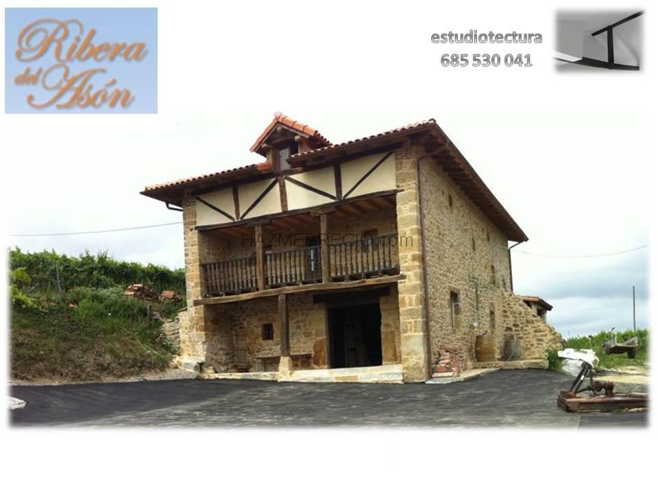 Reforma total de casa de campo bodegas vidular cantabria - Casas de campo en cantabria ...