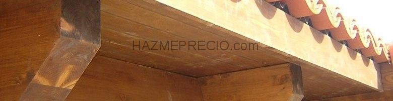 Cubiertas tecnicas en madera cutecma 44600 alca iz for Tejados de madera precio m2