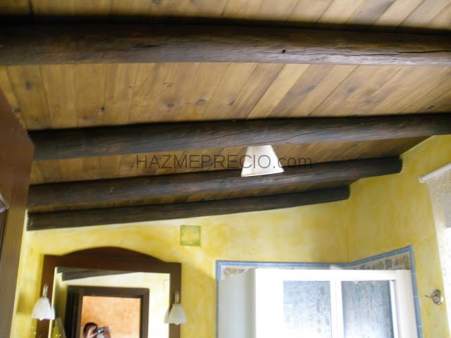 Azulejos Baño Huelva:Ampliación y reforma de una casa de campo: El techo del cuarto de