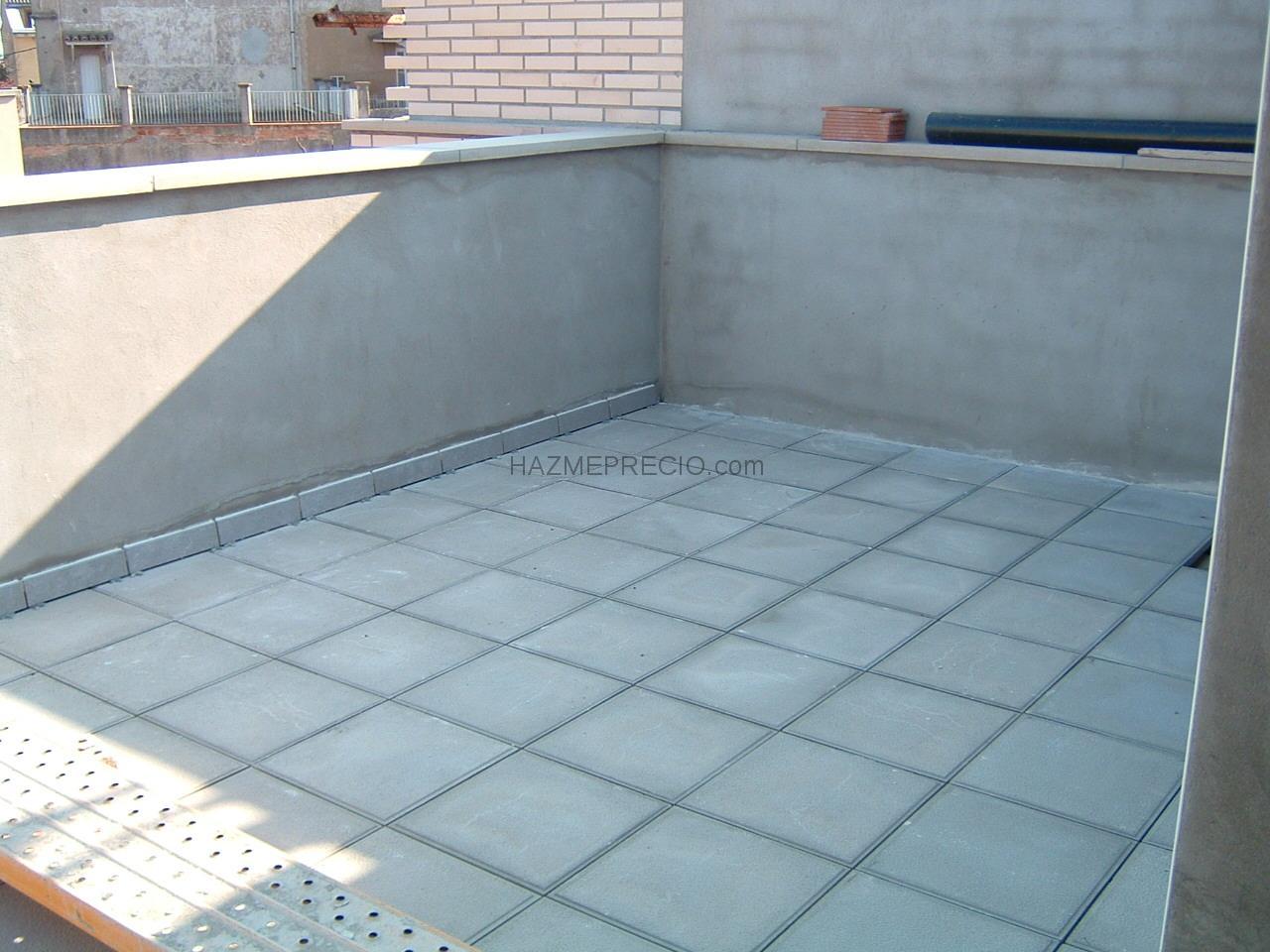 Castell 3 construccions sl 08280 calaf barcelona - Pavimento terraza exterior ...