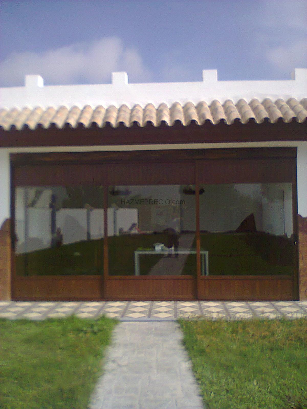 Urbiventana 11130 chiclana de la frontera cadiz for Cerrar porche jardin