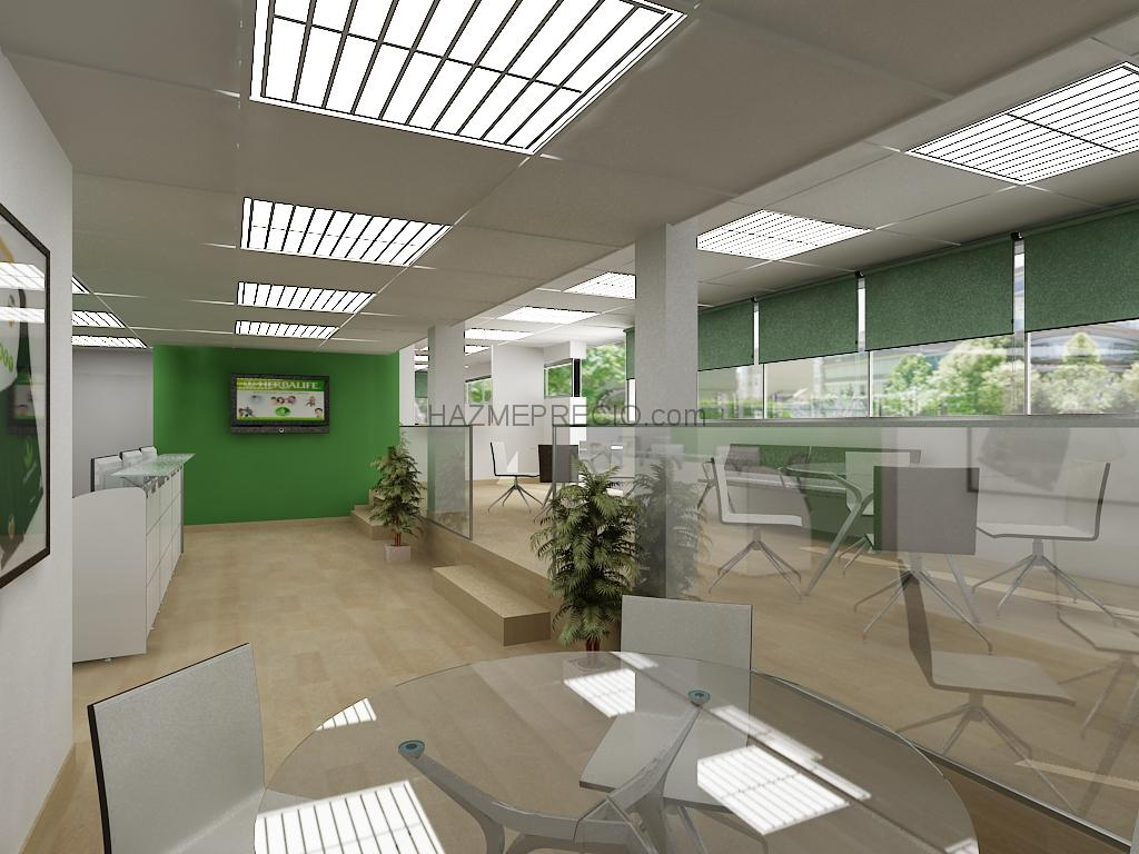 Reforma integral y equipamiento de mobiliario en oficina for Oficina atencion al socio real madrid