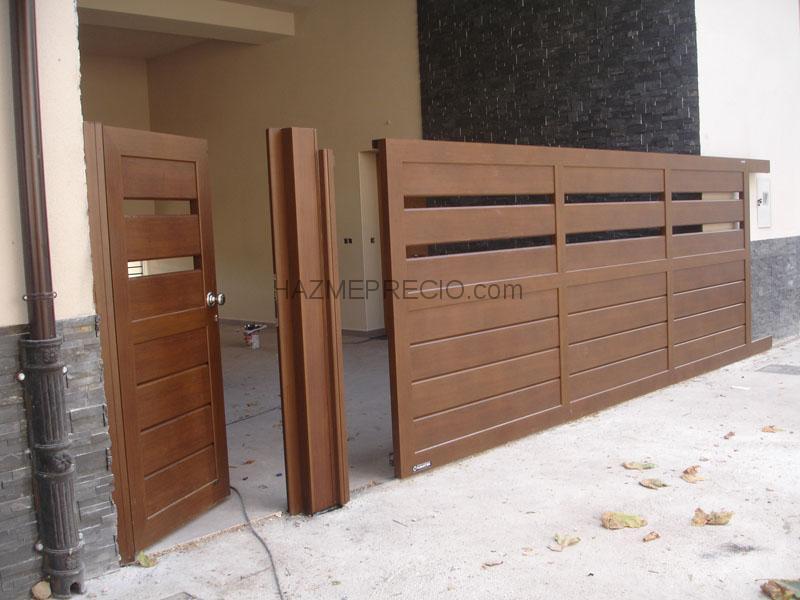 Casa residencial familiar instalacion de puertas jardines y mantenimiento - Instalacion de puertas correderas ...