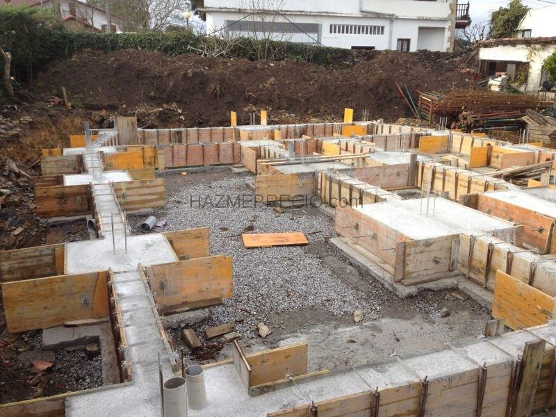 Construcciones olea eraikuntzak s l 48115 morga - Precio estructura casa ...