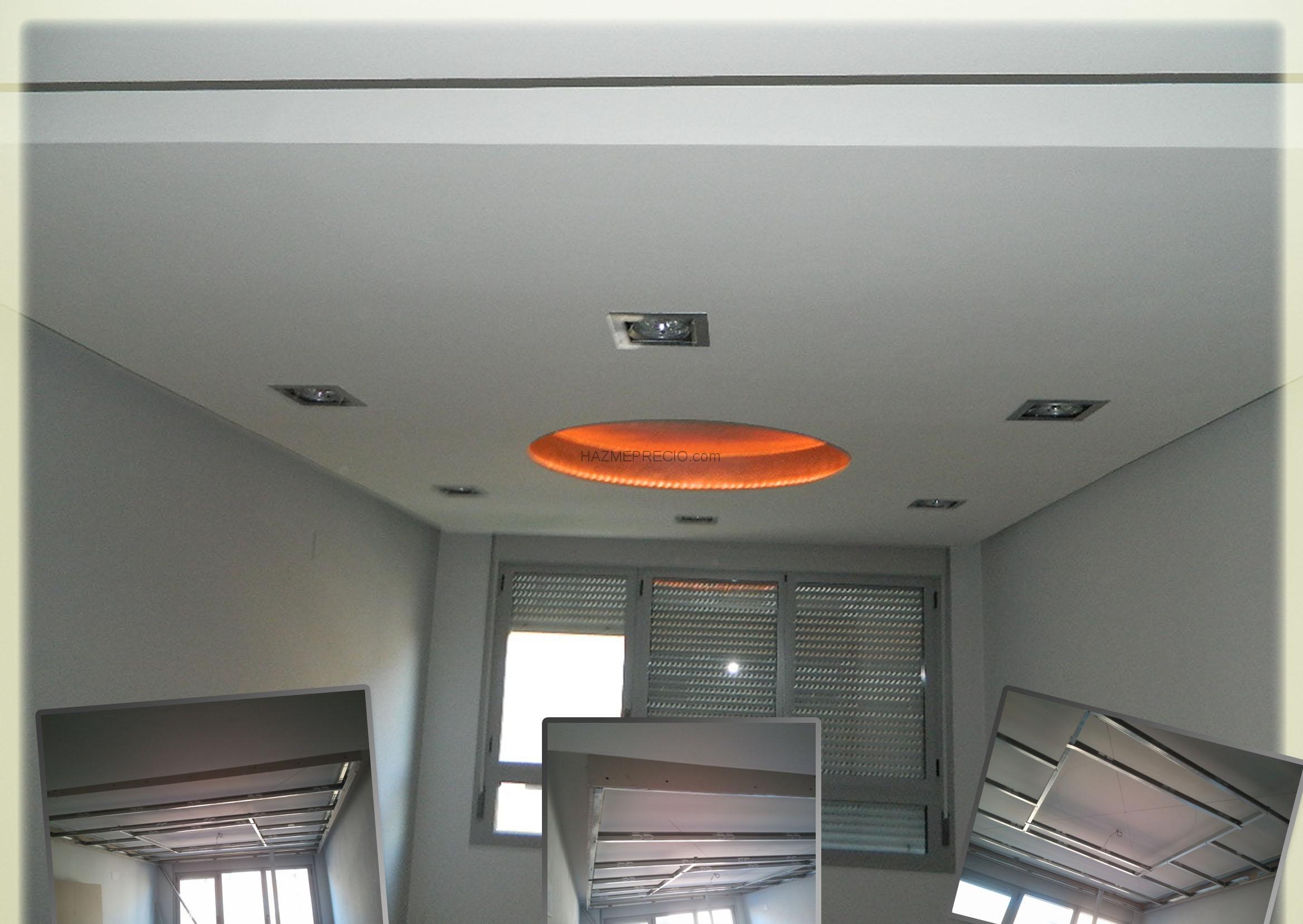 Techo pladur precio good centro ventell with techo pladur - Precios placas de pladur ...