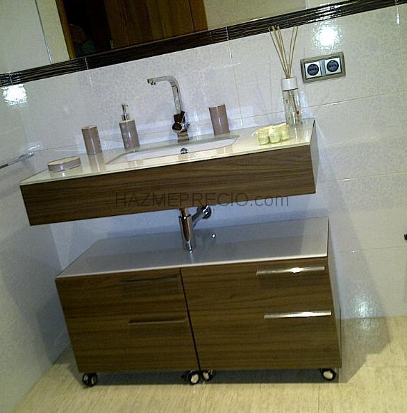 Mueble lavabo color wengue 20170812153102 for Mueble lavabo desague suelo
