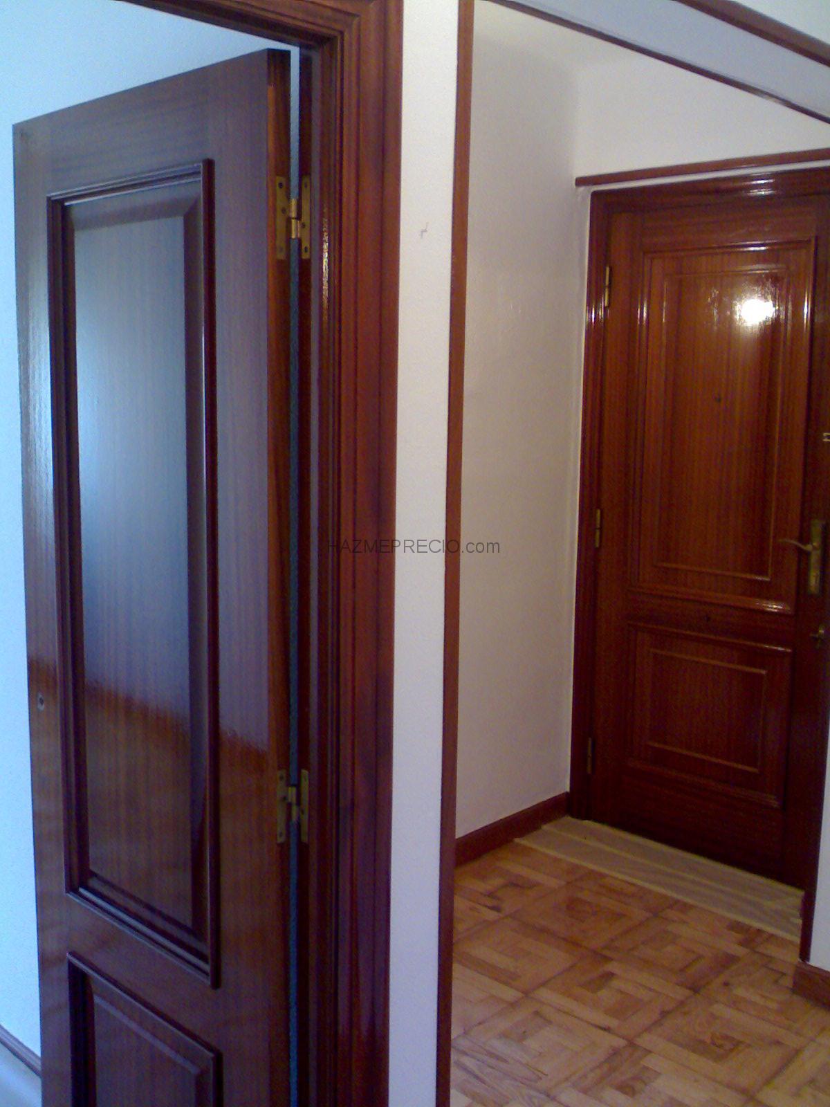 Pintura de piso y barnizado de puertas santa mar a de - Pintura para puertas ...
