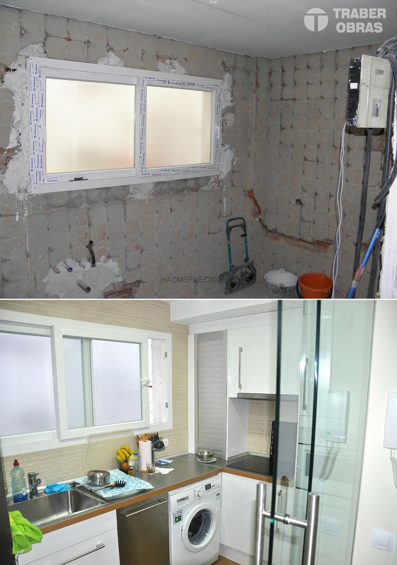 Reforma integral de vivienda situada en madrid getafe - Reforma cocina sin obra ...