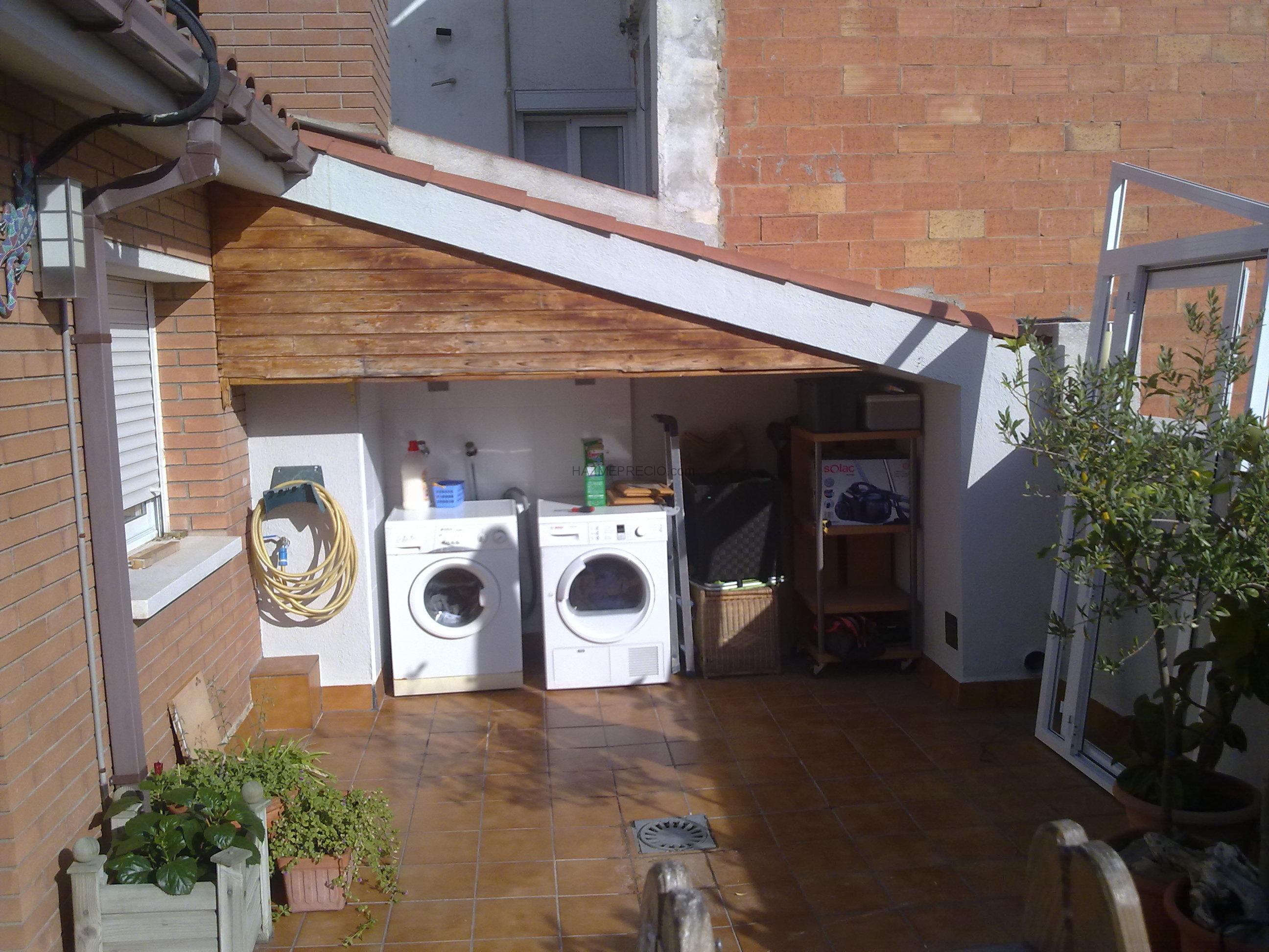 Carpinteria aluminio hnos salinas 08830 sant boi de for Lavadero terraza
