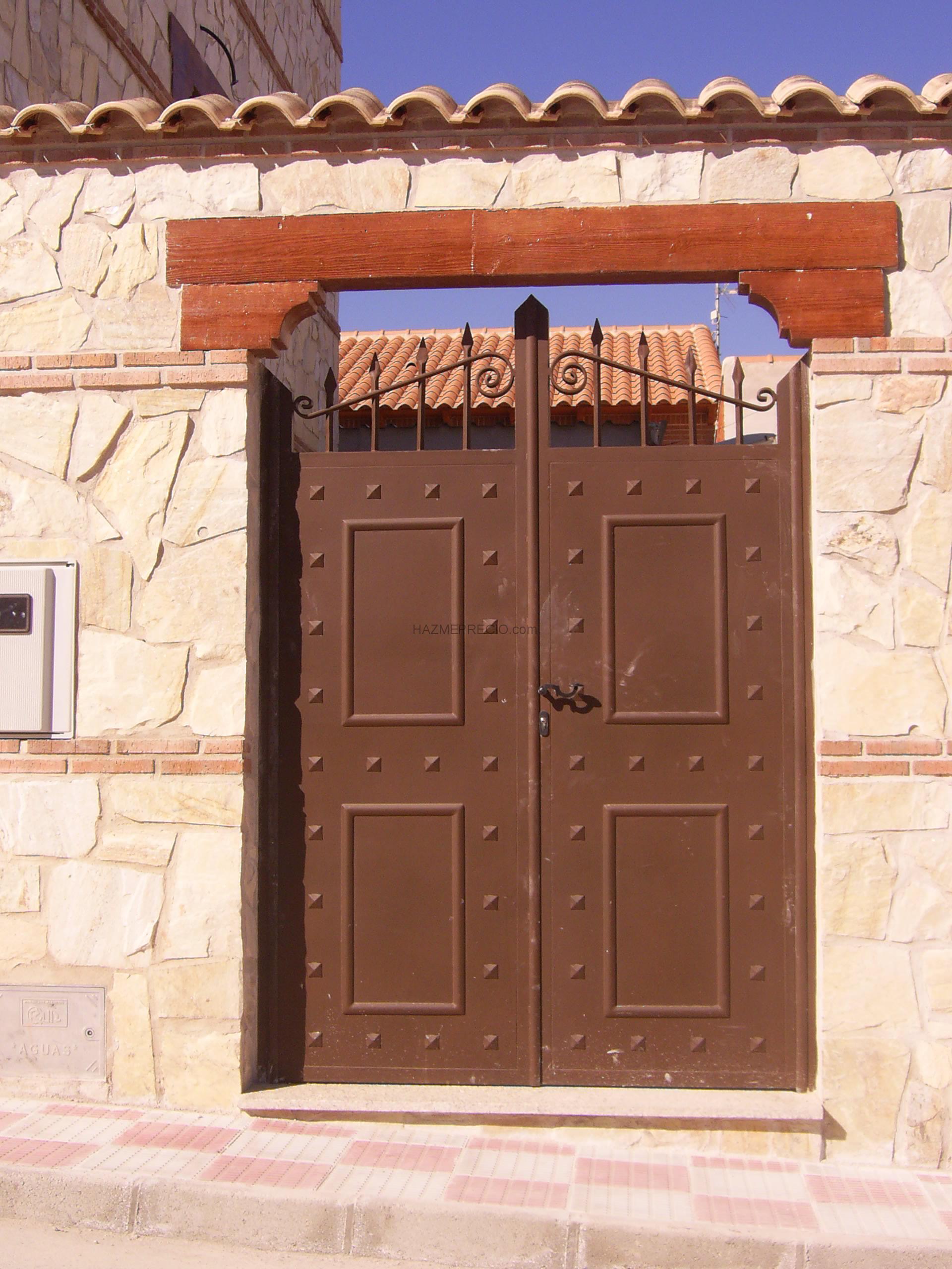 Empresas de puertas metalicas en madrid for Puertas metalicas