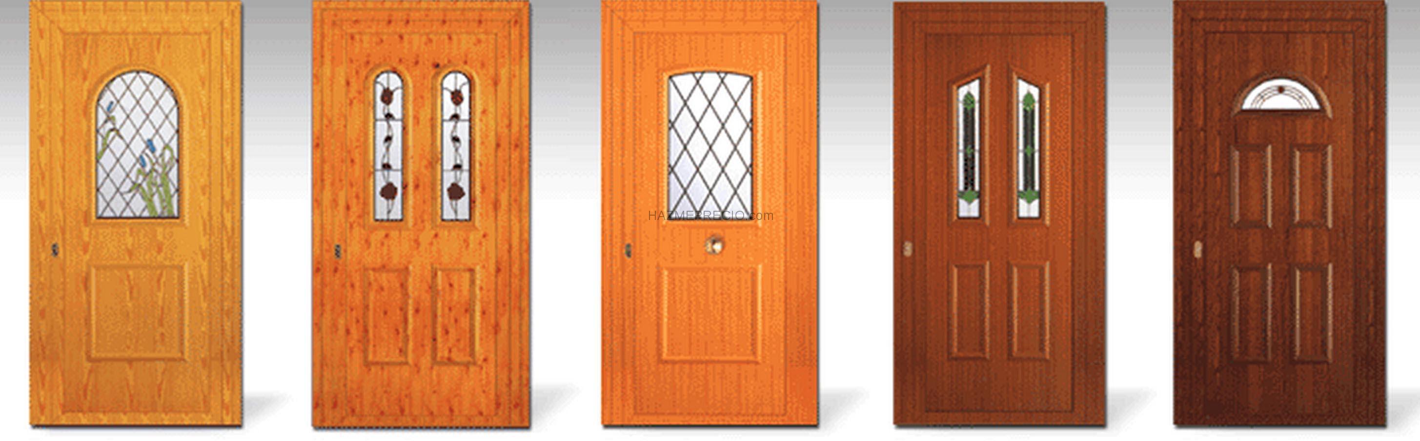 Empresas de carpinteria de aluminio en valencia - Puertas de aluminio color madera ...