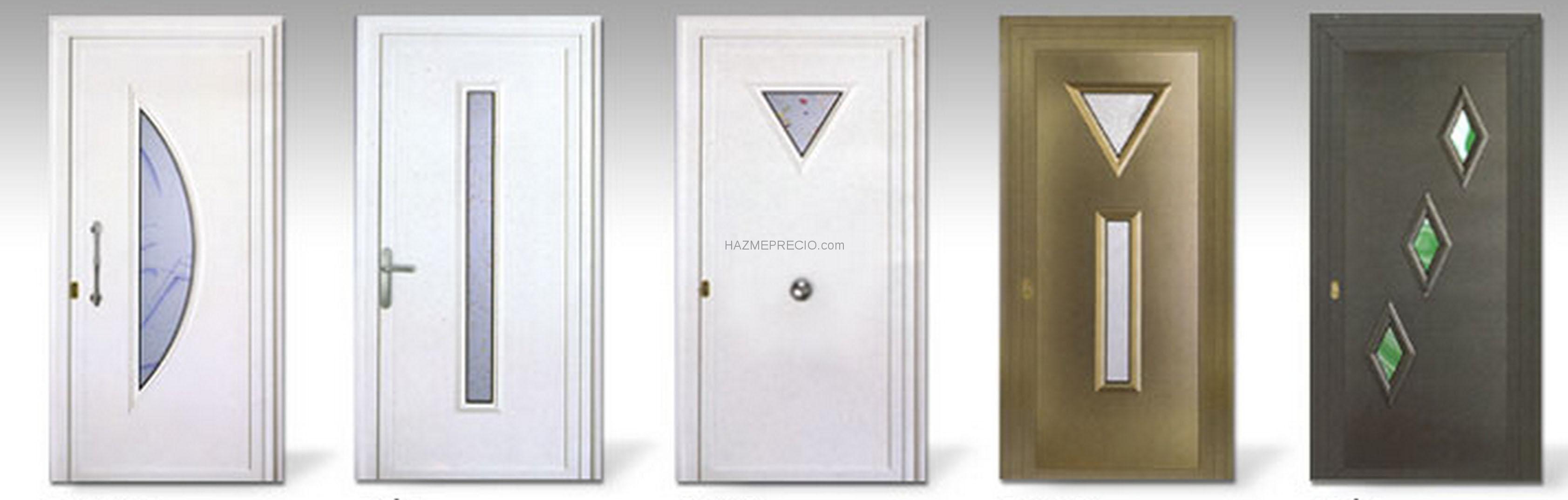 Puertas de aluminio modernas imagui for Puertas metalicas modernas para exterior