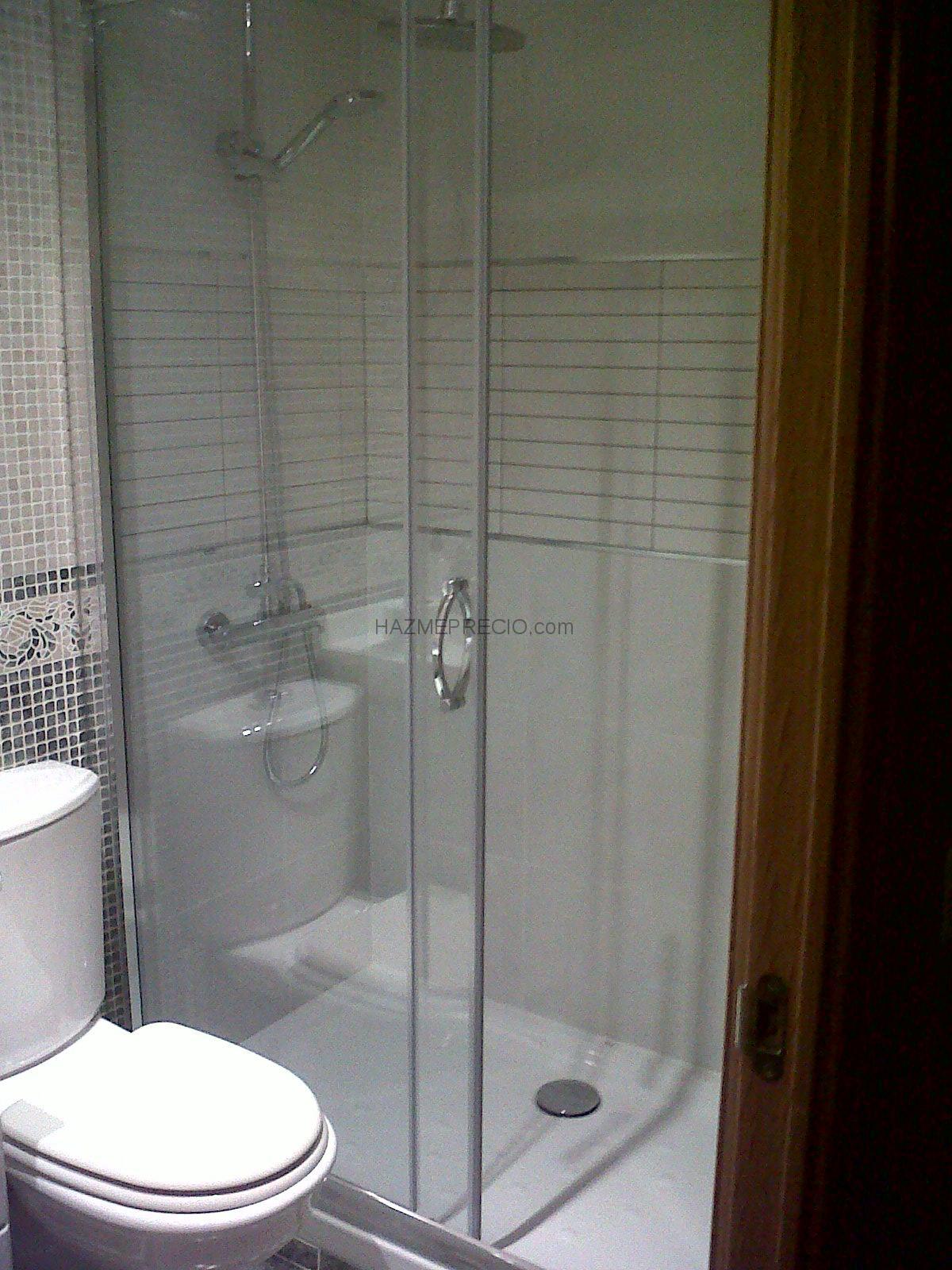 Presupuesto para cambiar plato y mampara ducha alcorc n for Plato ducha 120x70