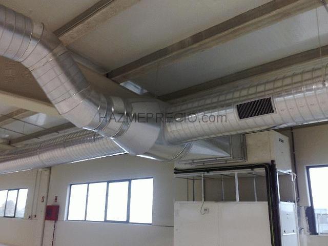 Climatizaciones monta o s l 41500 alcal de guada ra - Conductos de chapa ...