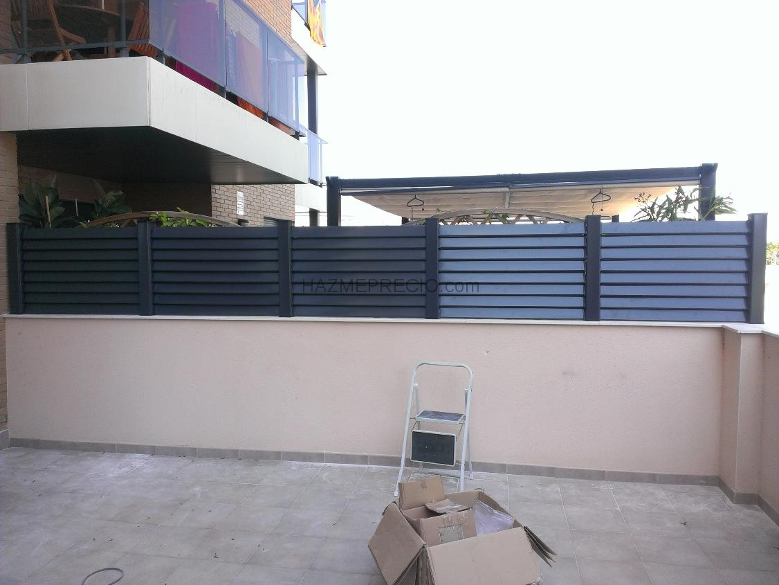 Doorimex 43204 reus tarragona for Vallas de aluminio para jardin