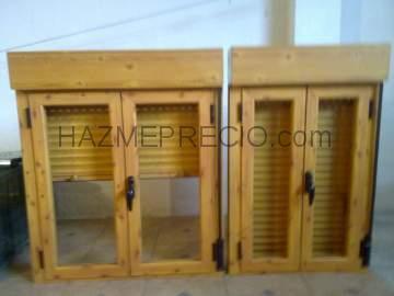 Empresas de carpinteria de aluminio en sevilla for Ventanales de aluminio imitacion madera