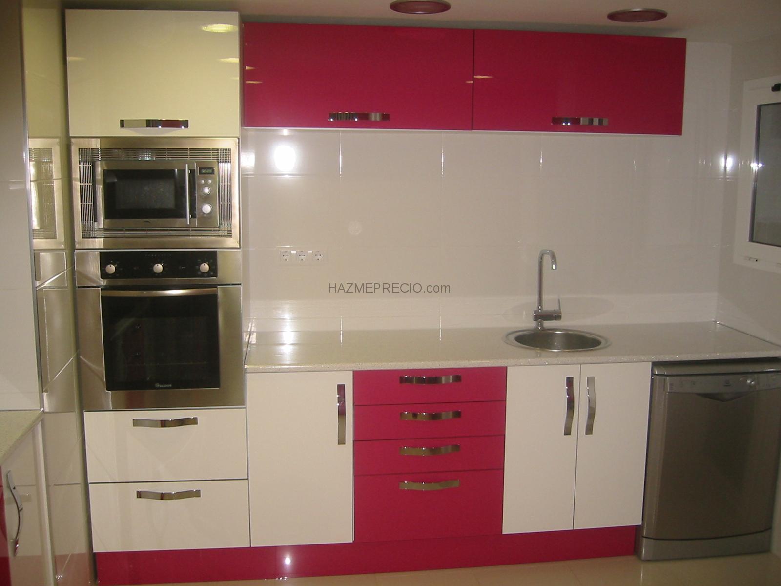 Casas cocinas mueble precio perfiles de acero - Disenador de armarios ...