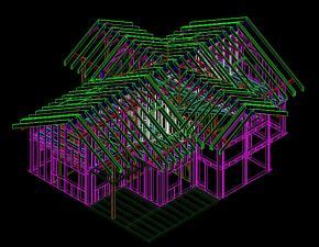 Producción y exportación a España de viviendas en madera de primera linea
