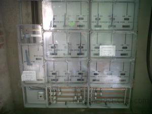 Instalacion de centralizacion de contadores electricos en vivienda nueva, con 11 viviendas y bajos comerciales