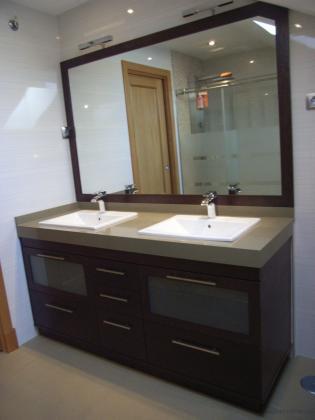 Muebles de ba o jara 28936 m stoles madrid - Banos con dos lavabos ...