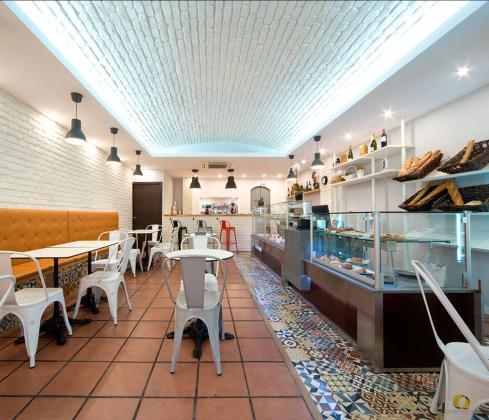 Interiorismo y obra de reforma panadería