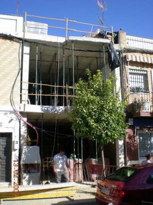 Vivienda unifamiliar entre medianeras, Sevilla