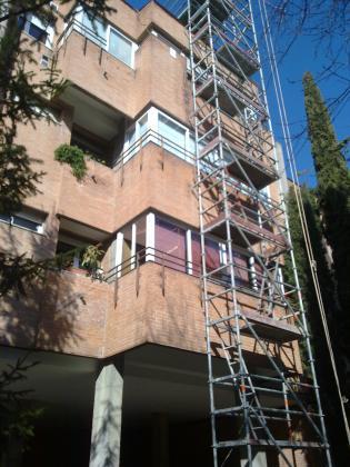 Rehabilitación en C/Pablo Vidal nº8 Madrid