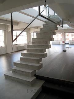 Escalera de diseño Hormigon